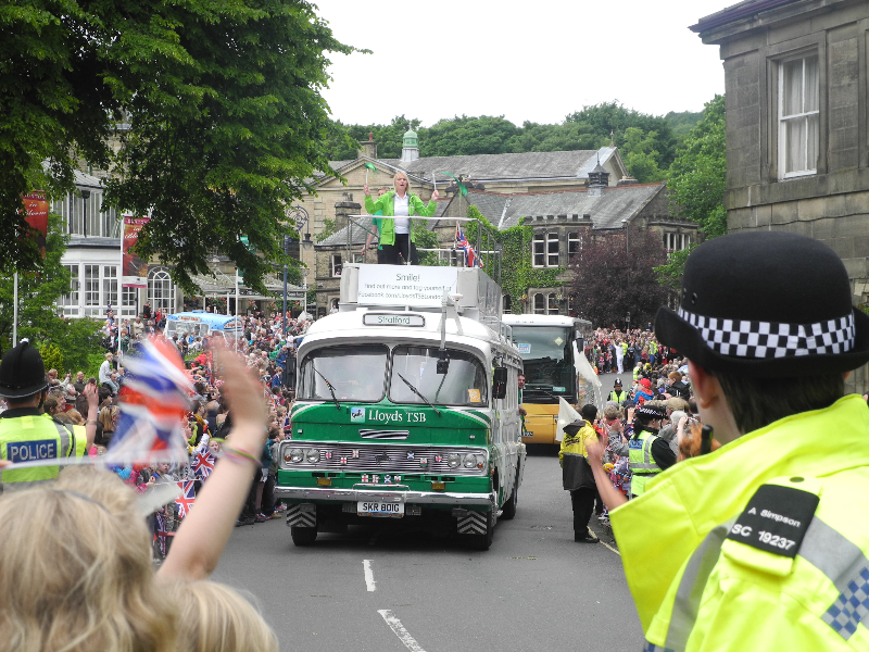 Waving in a Parade