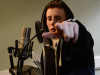 recording lyrics