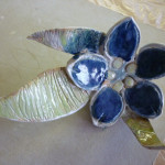 Ceramic Blue flower