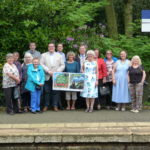 Edale train station group picture