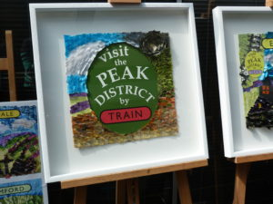 Visit the Peak District by Train Art
