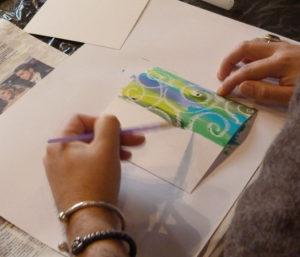 making a card