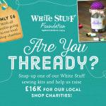 White Stuff instore fundraising campaign