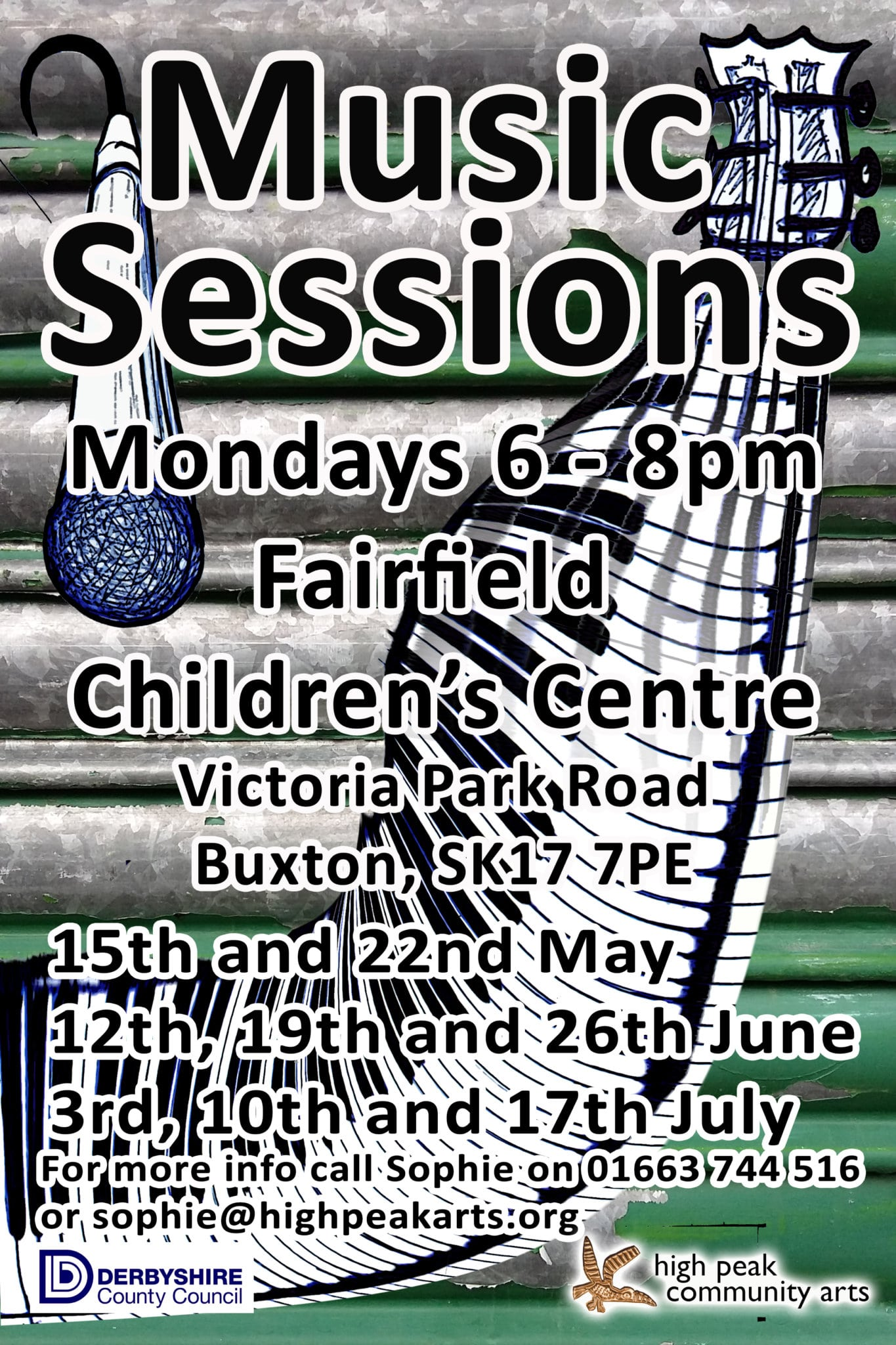 Music Sessions Poster
