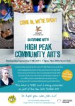 An Evening With… High Peak Community Arts