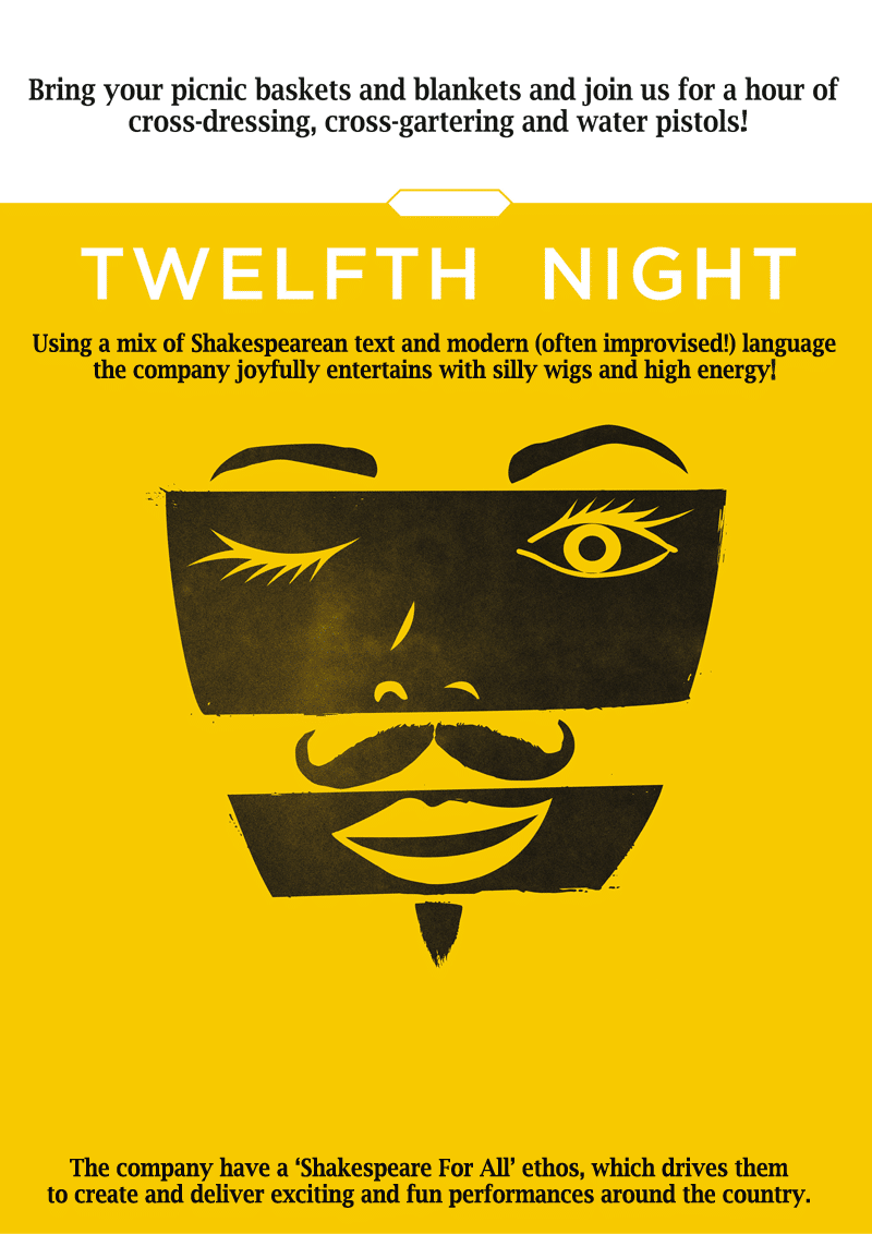 online booking for Twelfth Night