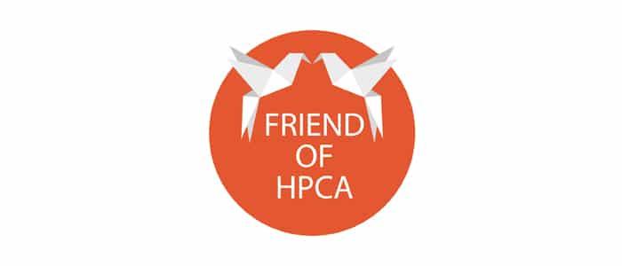 friends logo with bireds
