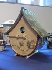 Sophie and Darren's bird box
