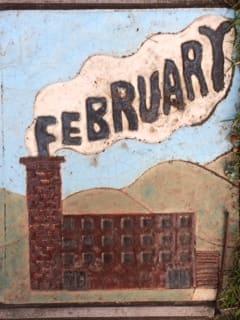 Ceramic February Tile